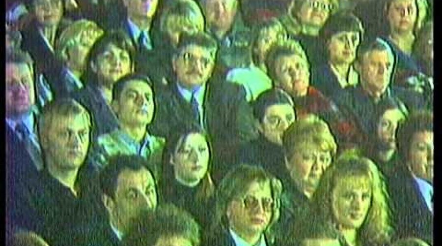 "АНЖЕЛИКА ЮТТ - концерт ""От Оперетты до Неоромантики"" (1999г.)"