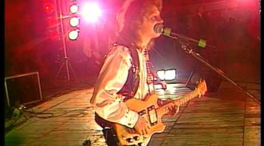 гр. АНЖЕЛИКА - сольный концерт в Минске, 1998 г.