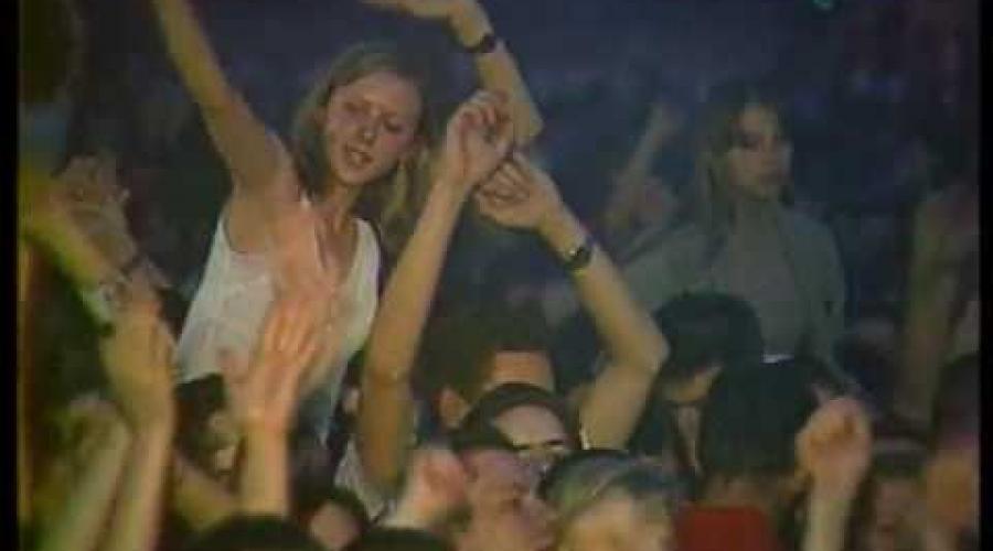 АНЖЕЛИКА - Карнавальная Ночь (1998г., live, сольник в Минске)